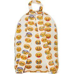 971565fb6d50 Emoji-nal Backpack ( 65) found on Polyvore Emoji Backpack