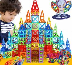 Magnetic Construction Set #kidstoys