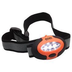 Ariel :: Easy See Headlamp Black/orange - WLT-ES13OR - $3.02/ea (1 Color)