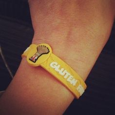 stickers et bracelets sans gluten