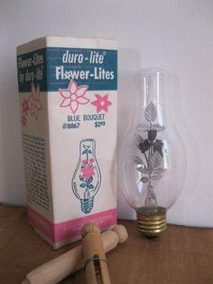 New Item!!! Free Shipping! Duro-Lite Flower-Lites Neon Mood Lighting Bulb-Green…