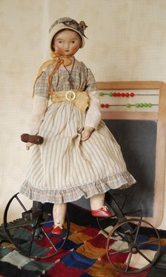 Miss Mathilde Salzburg a papier mache and by LoraSolingHandMade