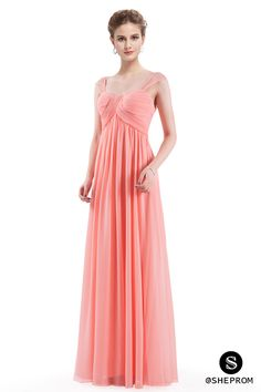Only $56, Peach Simple Corset Back Long Evening Dress #EP08863PE at #SheProm. SheProm is an online store with thousands of dresses, range from Homecoming,Formal,Party,Bridesmaid,Pink,Long Dresses and so on. Not only selling formal dresses, more and more trendy dress styles will be updated daily to our store. With low price and high quality guaranteed, you will definitely like shopping from us. Shop now to get $5 off!