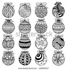 Image result for zentangle christmas
