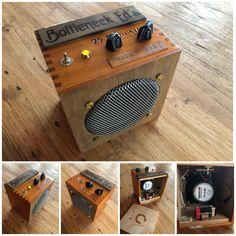 Cigar Box Guitar Plans, Diy Guitar Amp, Chicago The Band, Valve Amplifier, Diy Speakers, Speaker Design, Guitar Parts, Guitar Design, Vintage Diy