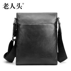 man style casual LAORENTOU high-quality fashion luxury brand 2017 new men's Messenger Bag genuine leather bag counter genuine well-known brands *** AliExpress Affiliate's buyable pin. Click the VISIT button to enter www.aliexpress.com #MensCrossbodyBagsLeather