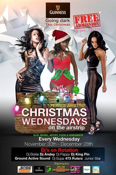 CHRISTMAS WEDNESDAY'S on the Airstrip EVERY WEDNESDAY Nov 30th - Dec 28th, 2016