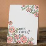 Loved Stamp Set   Waffle Flower Crafts