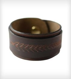 Ivy Leather Wrap Bracelet by The Leather Shop on Scoutmob Shoppe