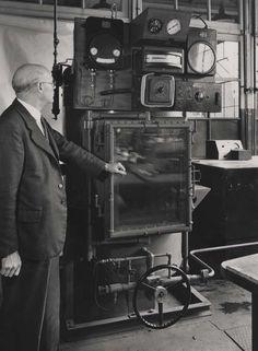 Kelvinator testing equipment, 1946. IET Archives NAEST 211/02/12/05 D.5282