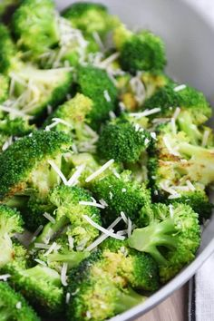 This easy skillet broccoli side dish is super tasty and takes less than 10 minutes to make proving that a good side dish should be simple and totally stress-free. | melskitchencafe.com
