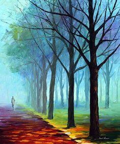 THE RAIN IS GONE - PALETTE KNIFE Oil Painting On Canvas By Leonid Afremov http://afremov.com/THE-RAIN-IS-GONE-PALETTE-KNIFE-Oil-Painting-On-Canvas-By-Leonid-Afremov-Size-30-X30.html?bid=1&partner=20921&utm_medium=/vpin&utm_campaign=v-ADD-YOUR&utm_source=s-vpin