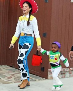 Our Favorite Celebrity Halloween Costumes - Sandra Bullock - from InStyle.com