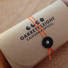 Garrett Leight Eyewear Case.  Love this.