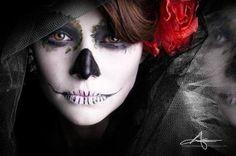 Autre maquillage pour HALLOWEEN(2)! pour femme