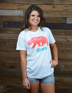 Jersey cotton Baylor Bears women's T-shirt