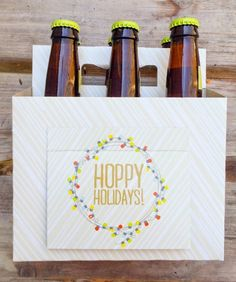 Beer Greetings - Perfect for the guy who has it all.  Add a selection of his favorite beers and you're good to go!