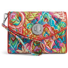 Vera Bradley Your Turn Smartphone Wristlet in Paisley in Paradise ($44) ❤ liked on Polyvore featuring accessories, tech accessories, paisley in paradise, samsung galaxy smartphone, smart phone wristlet, evening wristlet, vera bradley e iphone wristlet