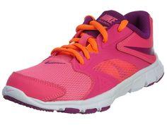 NEW NIKE FLEX SUPREME TR 3 Pink Orange Womens 7.5 (6Y) NIB #Nike #Running