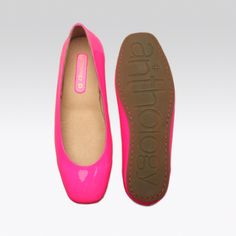 Some hot pink flats would be awesome! I wore holes in my other ones. Plain and simple and they go with everything!