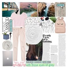 """""""it's love that's got me feeling ok"""" by vogue-galaxy ❤ liked on Polyvore featuring NLXL, Givenchy, Monki, AG Adriano Goldschmied, JuJu, Samsung, Disney, nvnbg and meanttobetagged"""