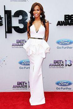 Red carpet fashion at the BET Awards 2013: Michelle Williams