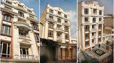 نمای آپارتمان سینا 136 International Real Estate, Multi Story Building, Street View