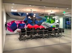 Commissioned Office Mural 6 for Le Eco | San Jose USA, 2016