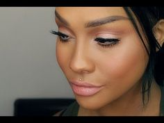 NATURAL PINK MAKEUP TUTORIAL BRIDAL & PROM - SONJDRADELUXE ♥