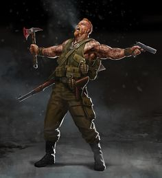 The Norwegian hero from Reichbusters by Mythic Games Post Apocalypse, Apocalypse Aesthetic, Apocalypse Survival, Character Inspiration, Character Art, Apocalypse Character, Arte Ninja, Post Apocalyptic Art, Military Drawings