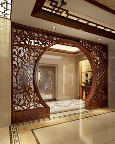 Living Room Partition Design, Room Partition Designs, Best Living Room Design, Room Door Design, Main Door Design, Home Room Design, Living Room Designs, Minimal House Design, Pastel Home Decor