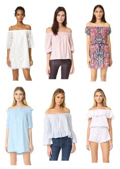 Popular trends this Spring - Off-the-shoulder