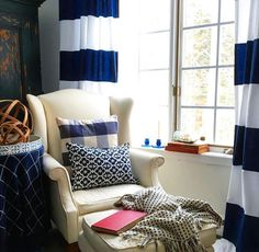 Nothing better than cozying up to great style with a good book. We can't stop thinking about this reading nook shared by Celine Phenix. Design your own #MyHomeSense snug reading corner with a comfy cushion and a warm throw.