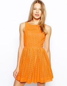 American+Apparel+Lace+Sun+Dress