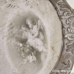 Plateau Décoration Anges Romantiques - Idée Cadeau | Pinterest ...