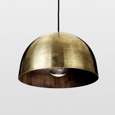 KBH Small Pendant Brass