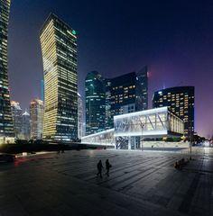 Shanghai Lujiazui Harbour City Exhibition Centre