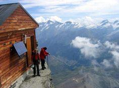 View on alps Zermatt, Switzerland.