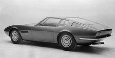 maserati ghilbi prototype - tipo am115 - giorgetto giugiaro + ghia - 1966