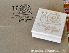 custom stamp snail mail stamp business stamp rubber stamps