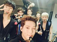 Monsta X on Facebook, posted on Facebook Talking about Kcon. #Jooheon #I.M…