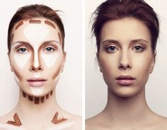 Contouring & Highlighting a Long face http://Www.marykay.com/lisamn                                                                                                                                                     More