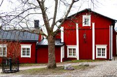 Old Town in Porvoo / Borgå, Finland