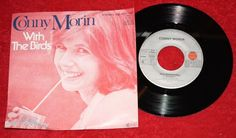 "CONNY MORIN - With the Birds + One Summerday - Vinyl 7"" Single - Ariola"
