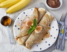 Buckwheat Crepes + Chocolate Sauce by Jenne Claiborne from Sweet Potato Soul