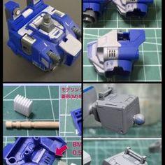 ノンスケール ブルーディスティニー 1号機 | 模型・フィギュアSNS【MG】 Gundam Tutorial, Gundam Custom Build, Gundam Model, Nerf, Carving, Models, Inspiration, Design, Templates