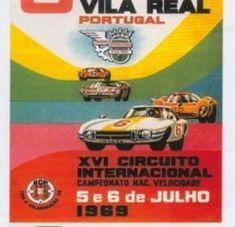 Cartaz do Circuito de Vila Real de 1969