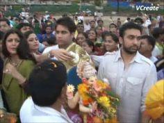 Shilpa Shetty and Raj Kundra's Ganpati Visarjan.