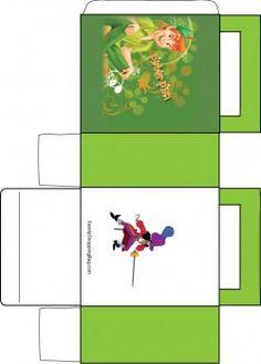 Peter Pan and Hook Favor Box