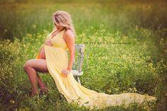 NEW Halter with Mocked Wrap Skirt Maternity Dress ,Maternity Photography Prop, Maternity Prop, Belly Dress